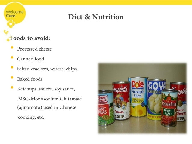 Diets for meniere disease