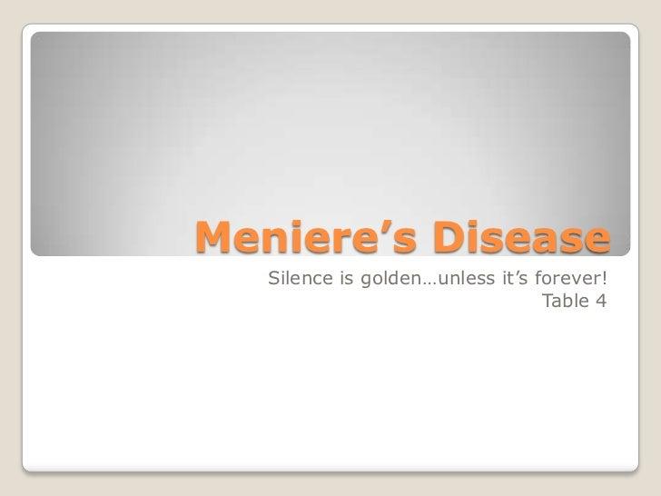 Meniere's disease 2