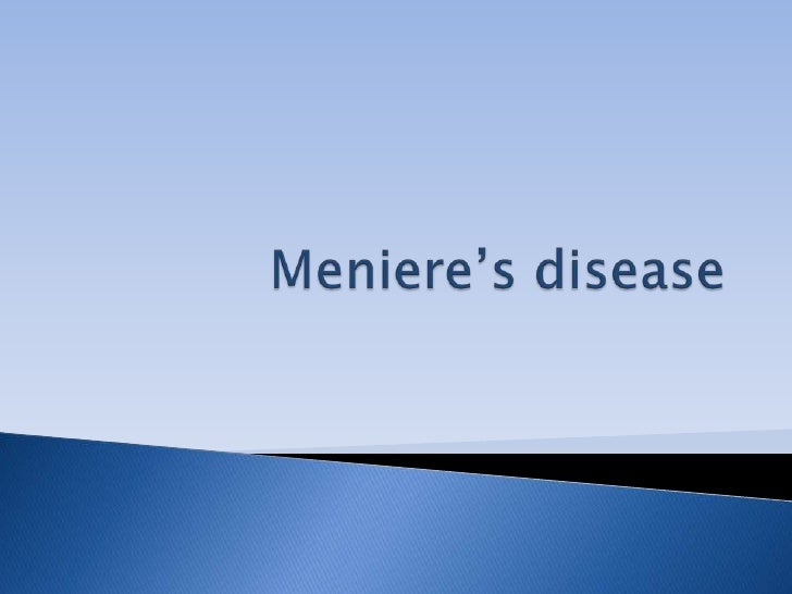 Meniere's disease<br />