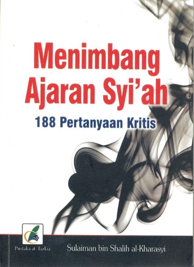 Buku ini telah dimuat-turun dari perpustakaan Aqeedah. http://www.aqeedeh.com/my/ E-mail:  book@aqeedeh.com  Laman web yan...