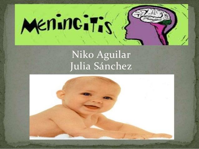 Niko Aguilar Julia Sánchez