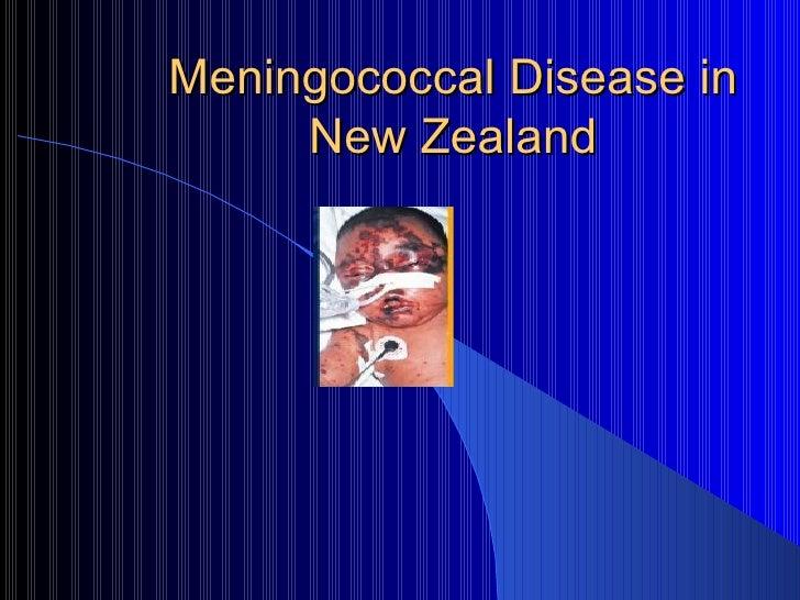 Meningococcal Disease in New Zealand