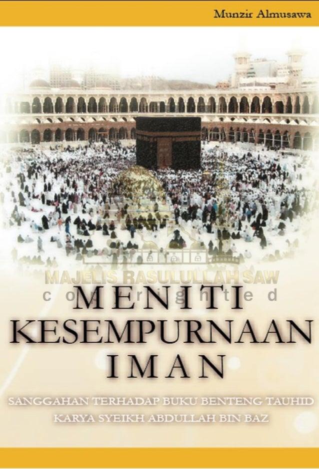 Meniti kesempurnaan iman - Habib Munzir Al-Musawa
