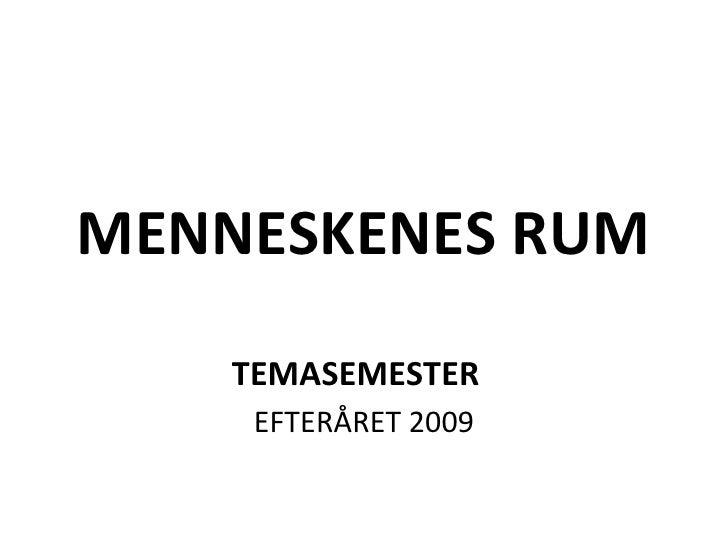 Menneskenes+Rum