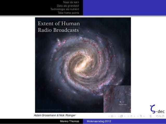 De Molenaar Symposium 2012 'Naar de kern' - Menno thomas
