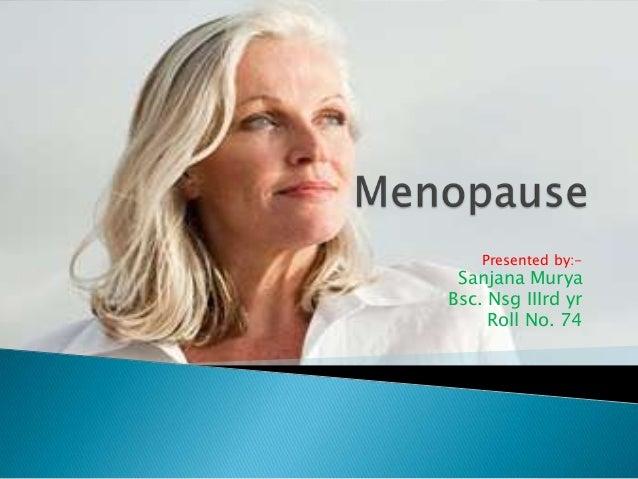 Menopause nine by sanjana