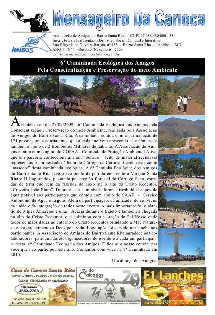 Mensageiro da carioca 1ª edição