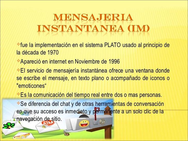 Mensajeria instantanea (im)