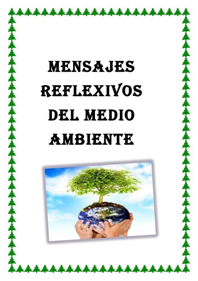 Mensajes del medio ambiente