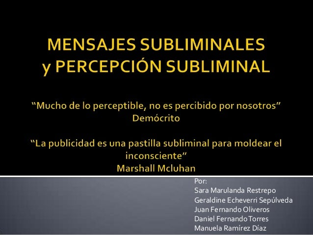 Mensajes subliminales (1)