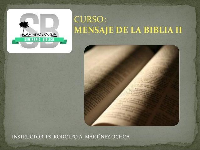 Mens bibliaii 0 introducción