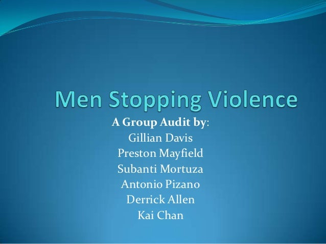 A Group Audit by:   Gillian Davis Preston Mayfield Subanti Mortuza  Antonio Pizano   Derrick Allen     Kai Chan