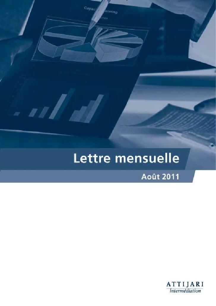 Notre lecture du MarchéMASI, une reprise tant attendueMalgré l'atonie et la diminution de l'attrait du marché             ...