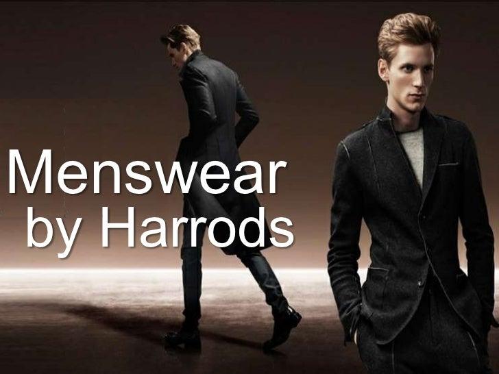 Menswear at Harrods | harrods.com