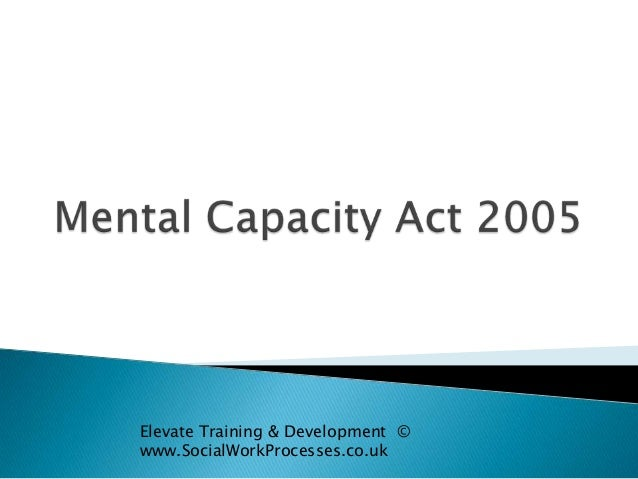 Elevate Training & Development © www.SocialWorkProcesses.co.uk