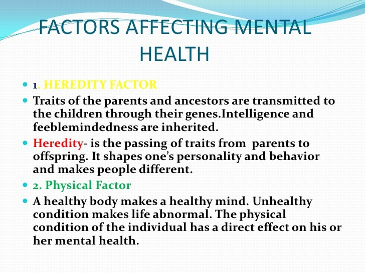 psychological factors affecting health And psychological capacities the joint ilo/who european conference on the industrial medical officer's contribution to  health psychosocial factors at work (.