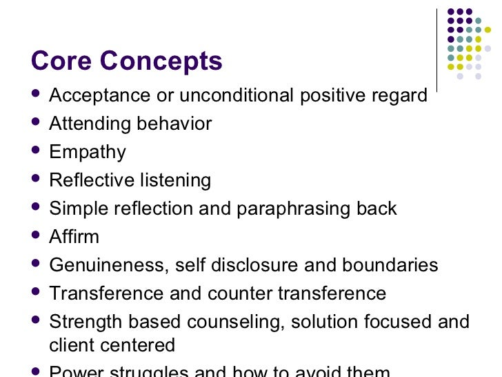 examples of unconditional positive regard Kaufman details a graphic example of being perhaps the key to understanding what rogers means by unconditional positive regard is that it does not mean unconditional praise, whatever a person does praise or criticism is a separate issue entirely unconditional positive regard is the.