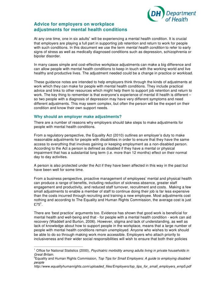 Mental health adjustments_guidance_may_2012