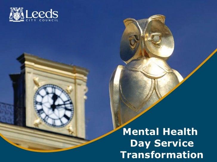 Mental Health  Day ServiceTransformation