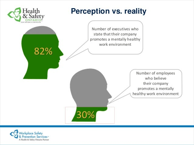Perception Effects in the Workplace