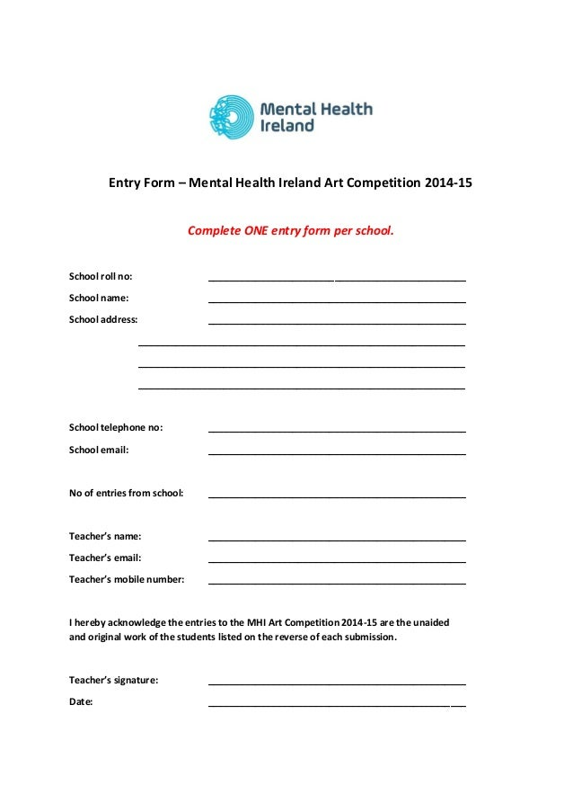 Ireland Art School Ireland Art Competition