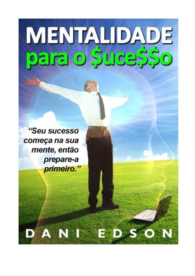 Mentalidade para o Sucesso - Ebook Grátis