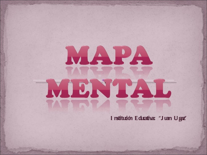 Estrategia Visual: Mapa Mental