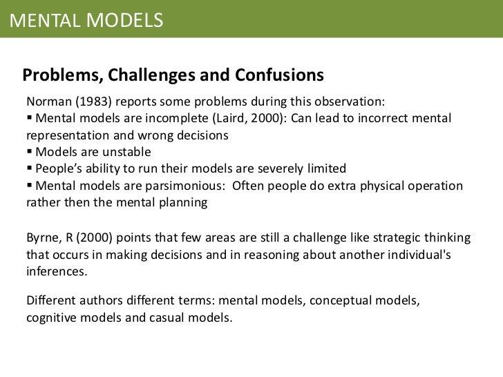 mental modelsmindsets essay Ob330/ob331 leadership fellows mental models / mindsets search mental models / mindsets mindset: the new working papers case studies.