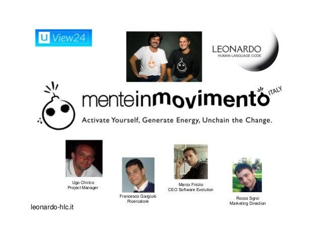 TBIZ 2012 - Mente in movimento