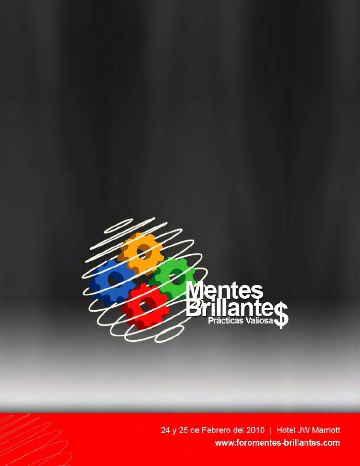 Mentes Brillantes 2010 S