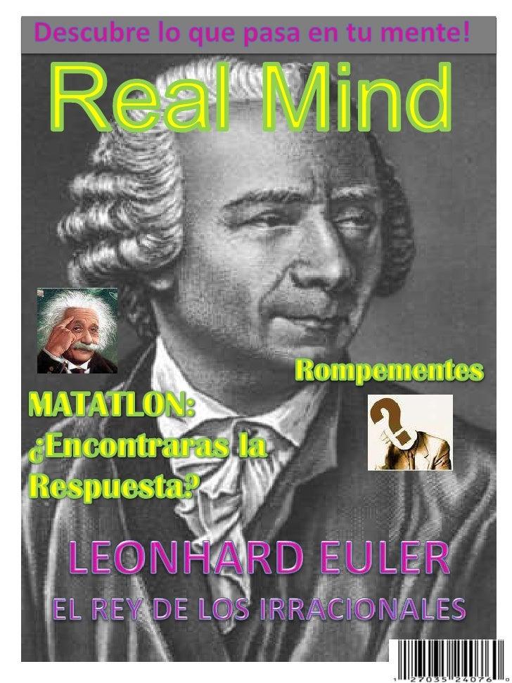 Descubre lo que pasa en tu mente!<br />Real Mind<br />Rompementes<br />MATATLON:<br />¿Encontraras la<br />Respuesta?<br /...
