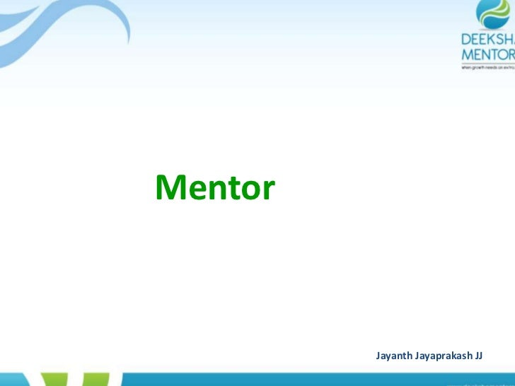 Mentor dmsc
