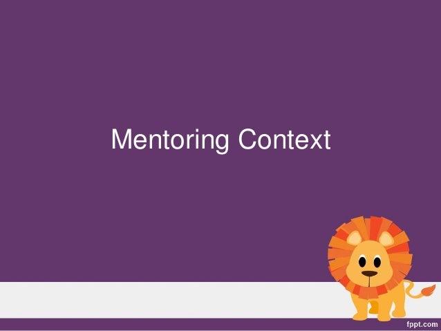 Mentoring Context