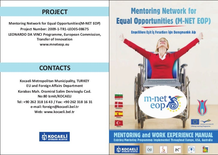 Mentoring network for equal opportunities handbook