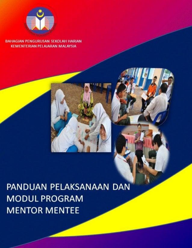 i   Panduan Pelaksanaan Program Mentor Mentee  BPSH KPM