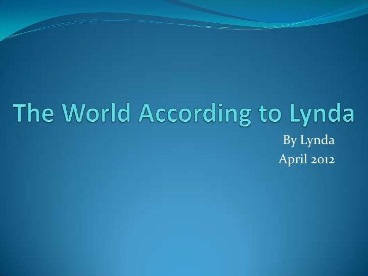 World According to Lynda