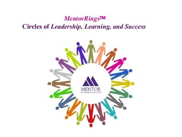 MentorRings: Peer Mentoring Leadership Development for Women