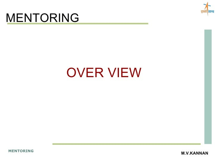 MENTORING OVER VIEW