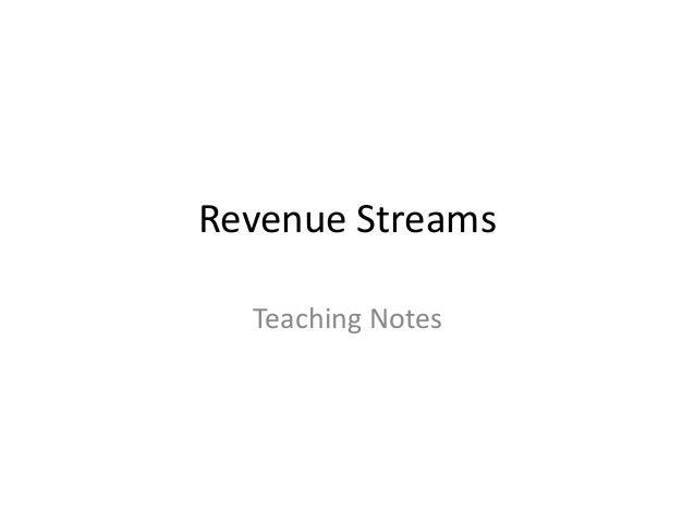 Mentor update 5  revenue streams