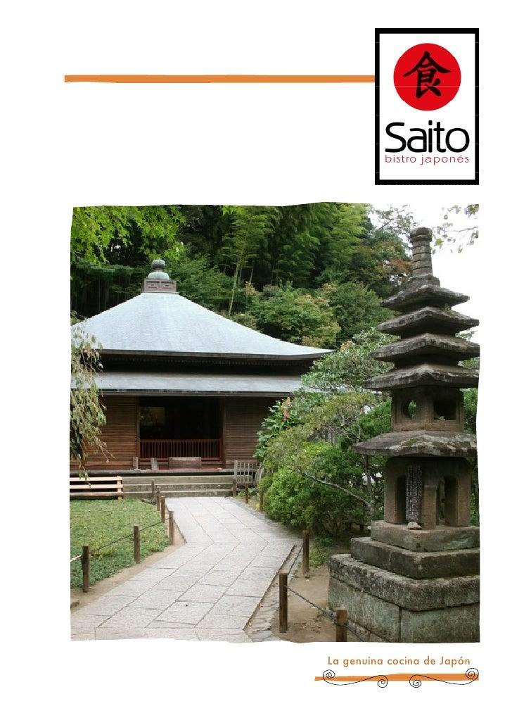 Menu Saito