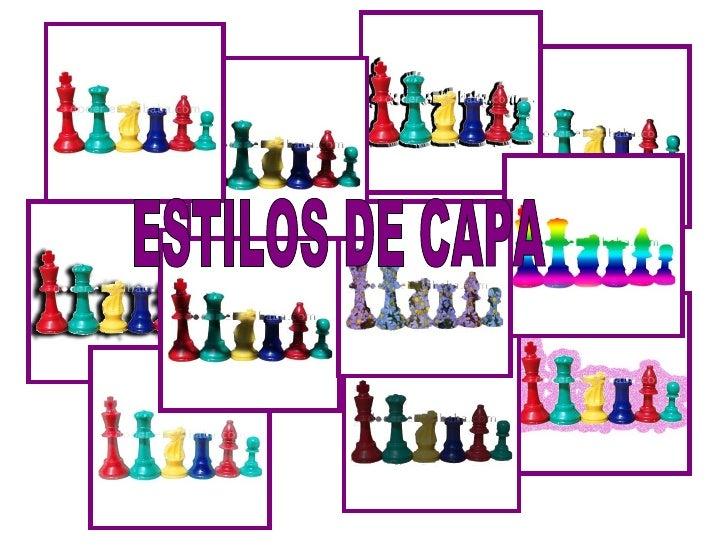 ESTILOS DE CAPA