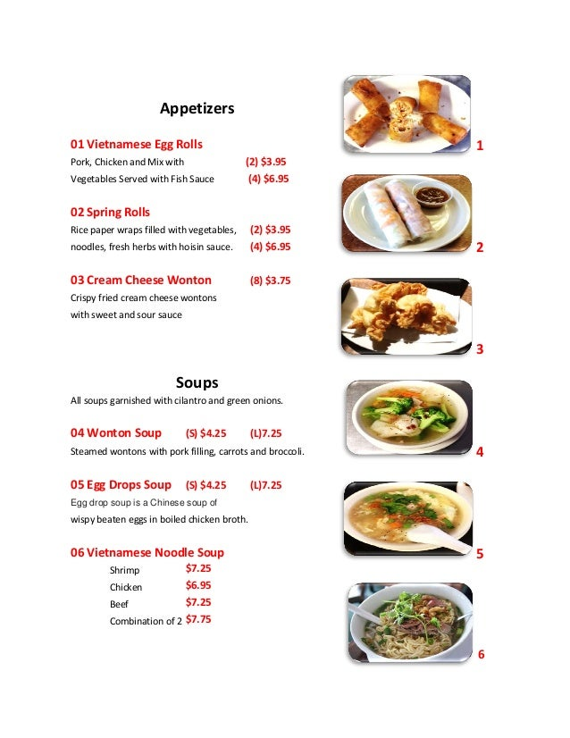 Asias express menu for Fish express menu