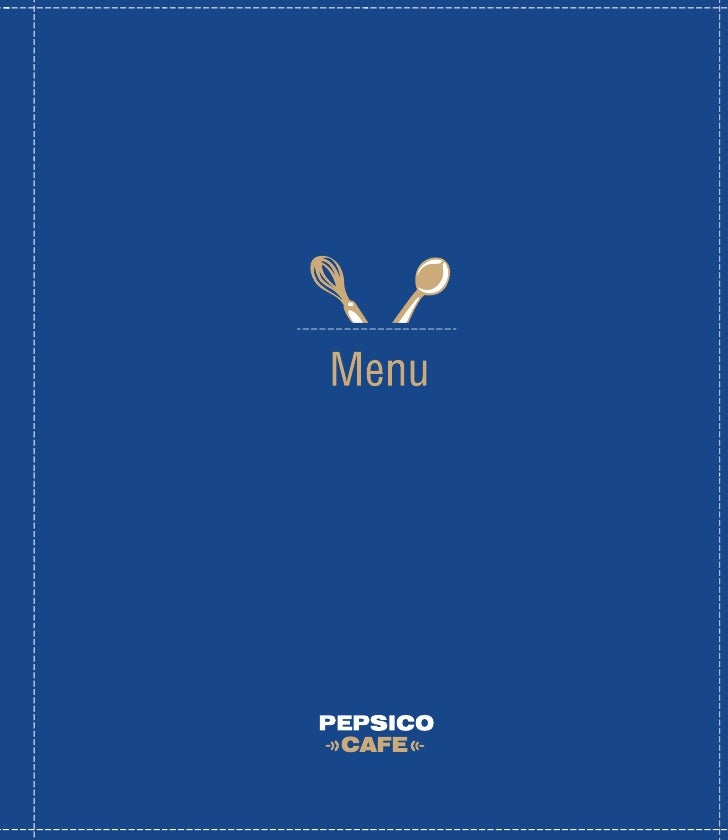 Welcome       to PepsiCo Cafe       Fabulous dishes from simple & familiar products!  Despite his young age, our Chef Ivan...