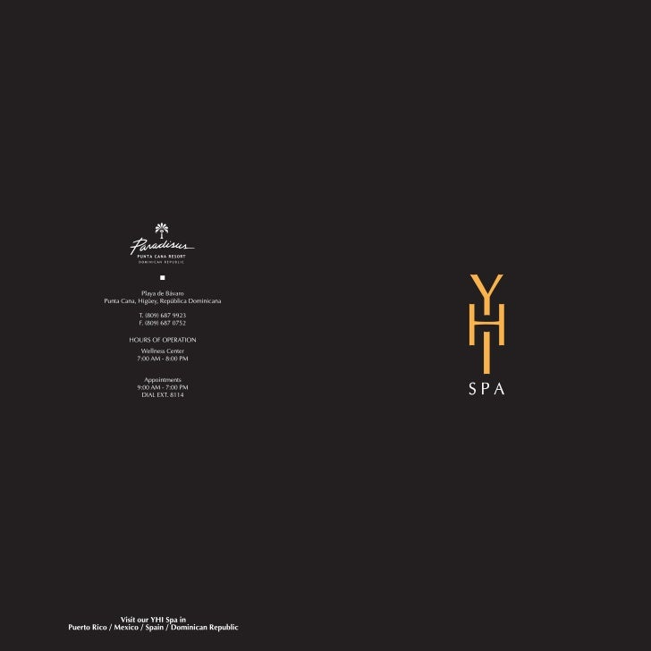 YHI Spa Services