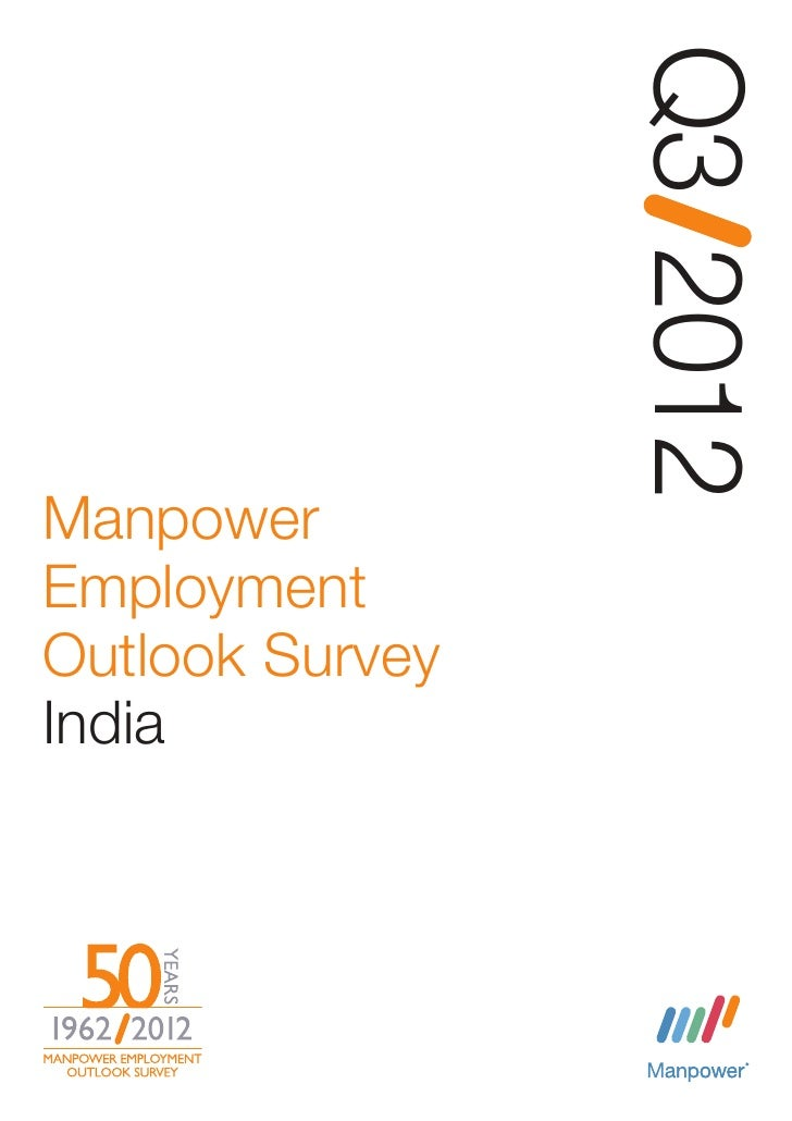 Manpower Outlook Survey - Q3 2012