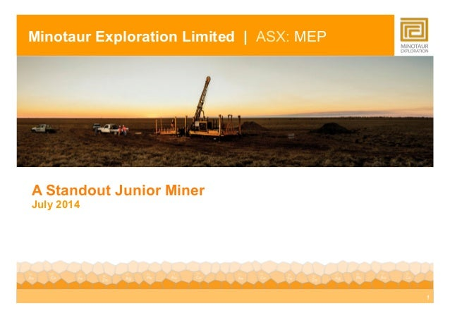 Presentation given by Managing Director Andrew Woskett at Qld Exploration Council Explorers' Investor Forum