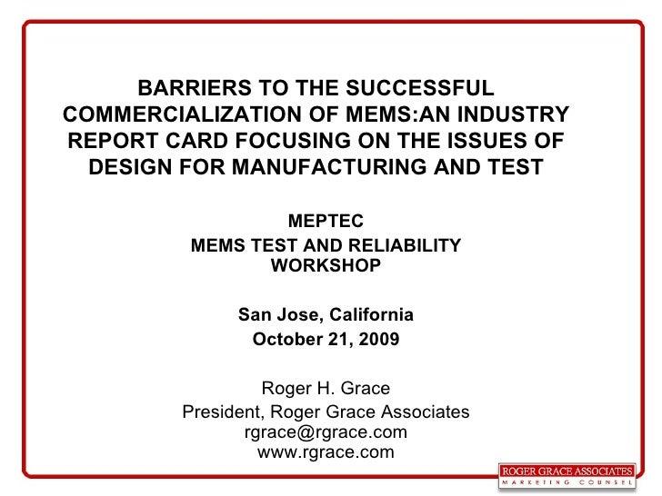 Meptec 2009 Test And Reliability Rev.B