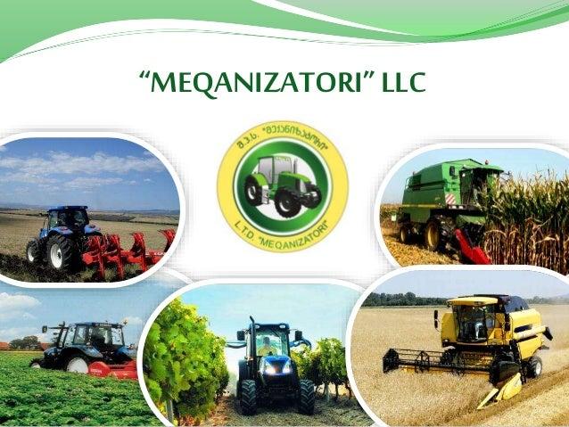 MEQANIZATORI LLC