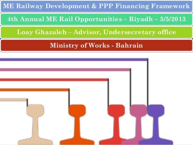 ME Railway Development & PPP Financing Framework