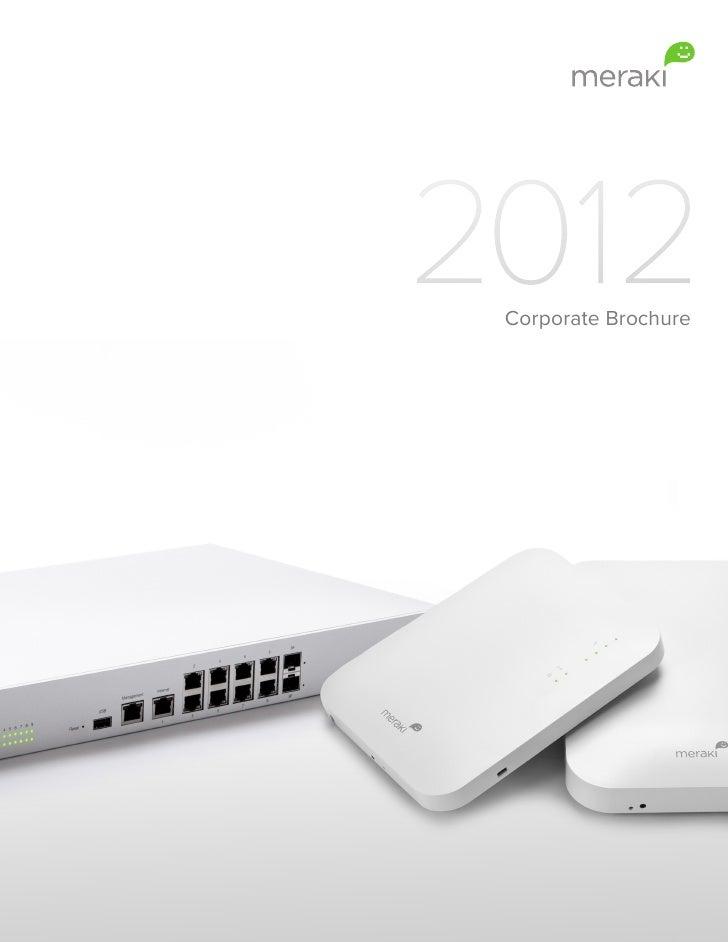 2012 Corporate Brochure